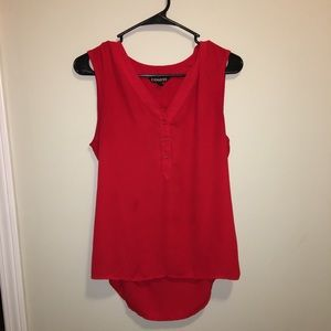 Express Red Top size small